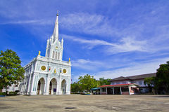 Church of Christianity. In Thailand Royalty Free Stock Photo