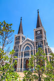 Church of Christianity. In Thailand Stock Photos