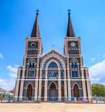 Church of Christianity. In Thailand Royalty Free Stock Images