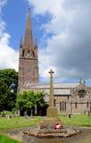 Church and churchyard, Weobley. Royalty Free Stock Photos