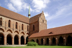 Church in the Cistercian monastery Chorin Royalty Free Stock Images