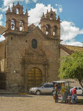 Church in the City of Cusco Peru Royalty Free Stock Photos