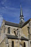 Church in the city of Les Andelys in normandie Royalty Free Stock Photo