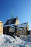 Church in city Pardubice Royalty Free Stock Photography