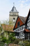 Church, City of Wolfhagen, Germany Stock Image