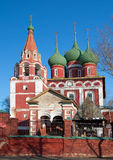 Church of the city of Yaroslavl Stock Image