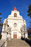 Church - Zidlochovice. Church,city - Zidlochovice, the Czech Republic Royalty Free Stock Photos