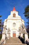 Church - city Zidlochovice, Czech Republic, Europe Royalty Free Stock Images