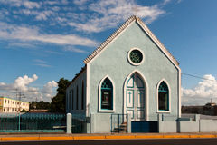 Church at Ciudad Bolivar. Small Church in the streets of Ciudad Bolivar, Venezuela Royalty Free Stock Images