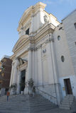 Church in Civitavecchia, Italy Royalty Free Stock Images