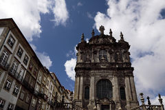 Church of the Clerics - Oporto Stock Images