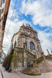 The Church of Clerigos in the city of Porto, Portugal Royalty Free Stock Photography