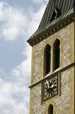 Church clock Stock Photography