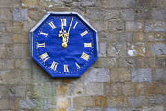 Church clock face Royalty Free Stock Images