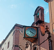 Church with clock Royalty Free Stock Photography