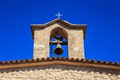 Church clock tower Stock Image