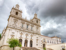 Church and cloister Sao Vicente de Fora Lisbon Stock Images