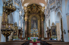 Church in Cluj-Napoca Royalty Free Stock Photography