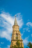 Church in Cluj Napoca, Romania. Tower of the Holy Michael Church in Cluj Napoca, Romania Royalty Free Stock Photos