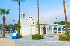 The church on the coast Royalty Free Stock Image