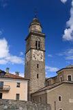 Church in Cogne, Italy Royalty Free Stock Image