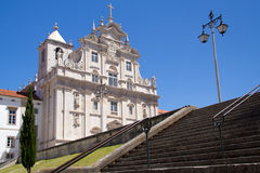 Church in Coimbra Stock Images