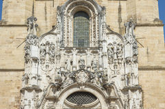 Church in Coimbra, Portugal Royalty Free Stock Photos