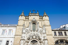 Church in Coimbra, Portugal Royalty Free Stock Photo