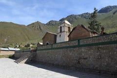 A Church in the Colca Canyon Stock Photos