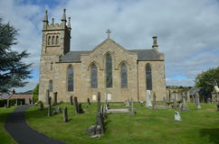 Church in Collessie Stock Photo