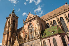 Church in Colmar Royalty Free Stock Photography