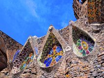 Church in Colonia Guell Stock Images