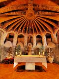 Church in Colonia Guell Stock Image