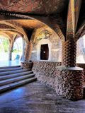 Church in Colonia Guell Royalty Free Stock Photography