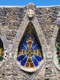 Church in Colonia Guell Royalty Free Stock Images