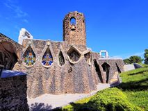 Church in Colonia Guell Royalty Free Stock Image