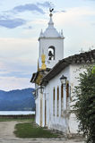 Church in the Colonial Town of Paraty, Brazil Stock Photography