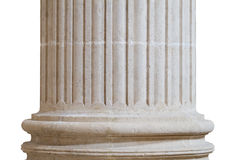 Church column isolated Stock Images