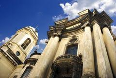 Church columns Stock Images