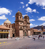 Church of the Company of Jesus,  Plaza d'Armas, Royalty Free Stock Image