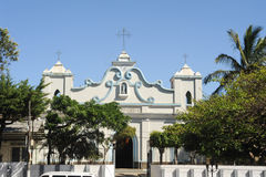 The church of Conception de Ataco on El Salvador Stock Photos