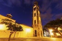 Church of the Conception in Santa Cruz de Tenerife Stock Photos