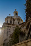 Church of the Condemnation and Imposition of the Cross, Jerusalem. Roman Catholic Church of the Condemnation and Imposition of the Cross, view from Via Dolorosa Stock Photography
