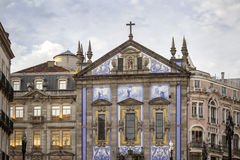 Church of Congregados - Igreja dos Congregados, built in 1703. Royalty Free Stock Image
