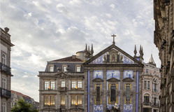 Church of Congregados - Igreja dos Congregados, built in 1703. Stock Photography