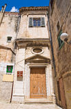 Church of Conservatorio. Minervino Murge. Puglia. Italy. Royalty Free Stock Image