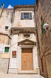 Church of Conservatorio. Minervino Murge. Puglia. Italy. Royalty Free Stock Image