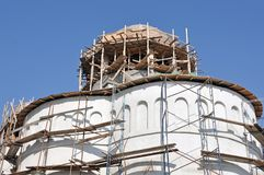 Church construction Royalty Free Stock Photo
