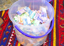 Church contribution Stock Image