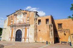 The Church and Convent of the Dominicans is the oldest Catholic building in the American Continent stock image